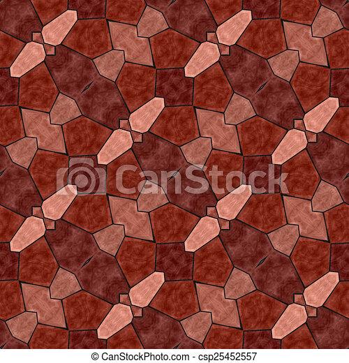 Glass mosaic kaleidoscopic seamless generated hires texture - csp25452557