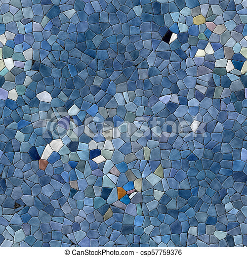 Glass mosaic kaleidoscopic seamless generated hires texture - csp57759376