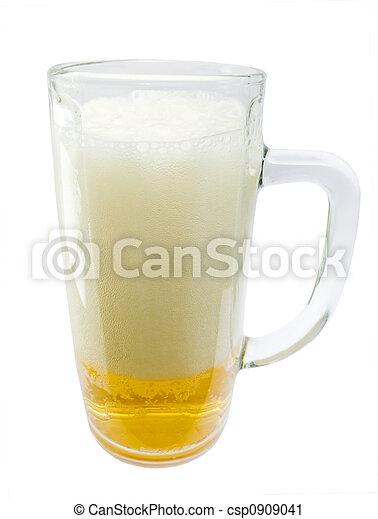 Glass mug - csp0909041
