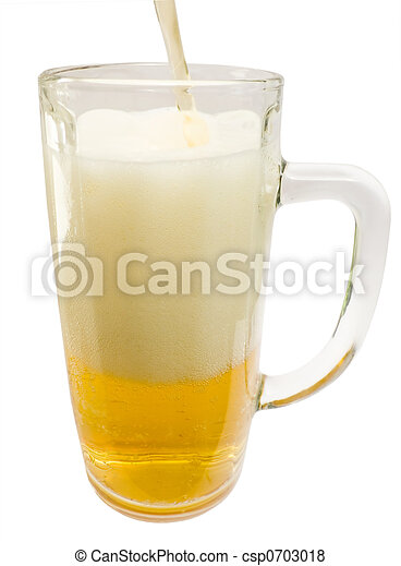 Glass mug - csp0703018