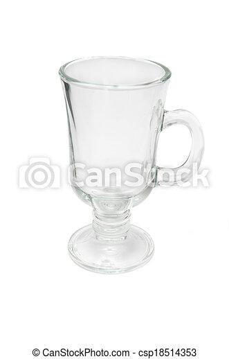 glass mug - csp18514353