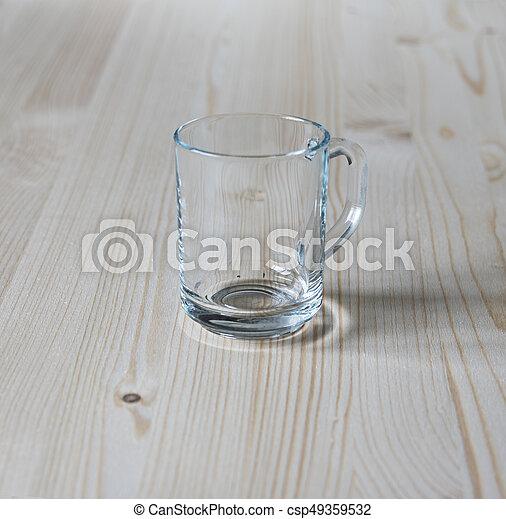 Glass mug - csp49359532