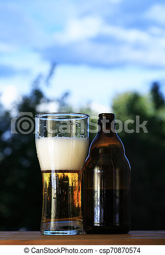 Glass Of Beer - csp70870574