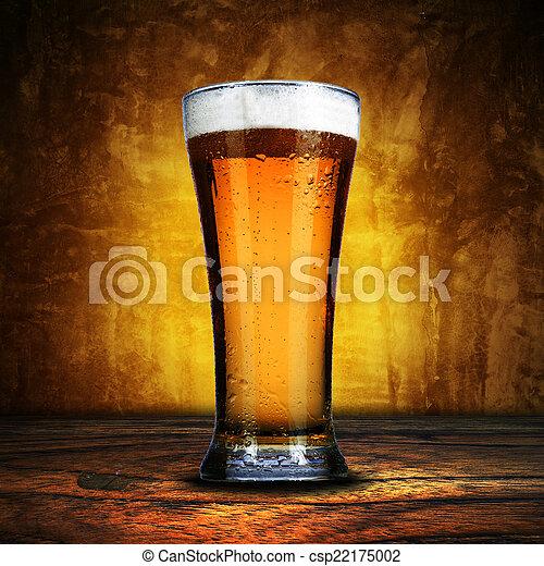 Glass of Beer - csp22175002
