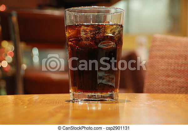 Glass of cola - csp2901131