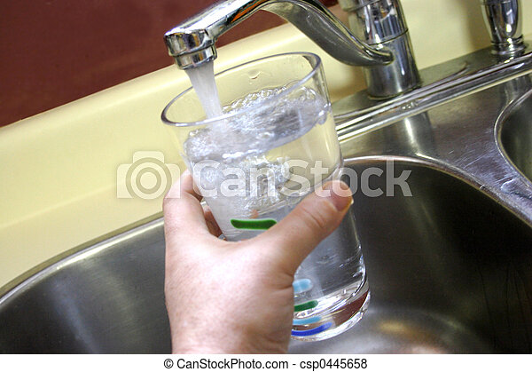 Glass of Tap Water - csp0445658