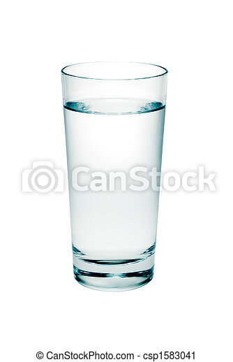 glass of water - csp1583041