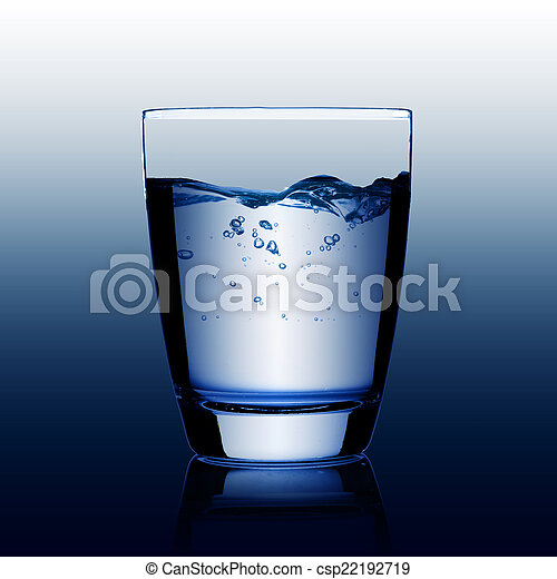 Glass of Water - csp22192719