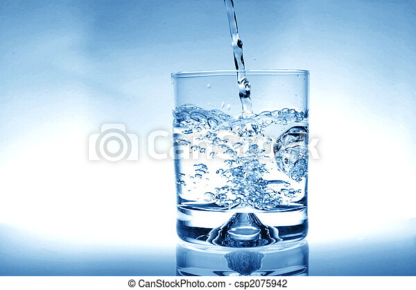 Glass of water - csp2075942