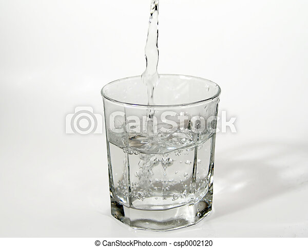 Glass of Water - csp0002120