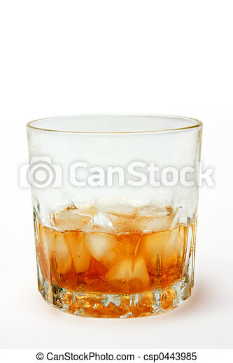 Glass of Whiskey - csp0443985