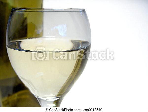 Glass of Wine - csp0013849