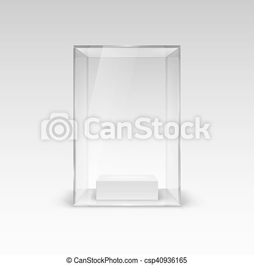 Glass Showcase - csp40936165