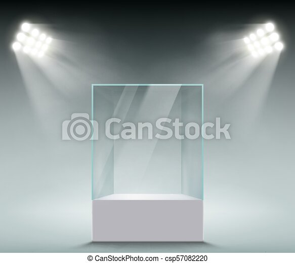 Glass showcase for sales - csp57082220