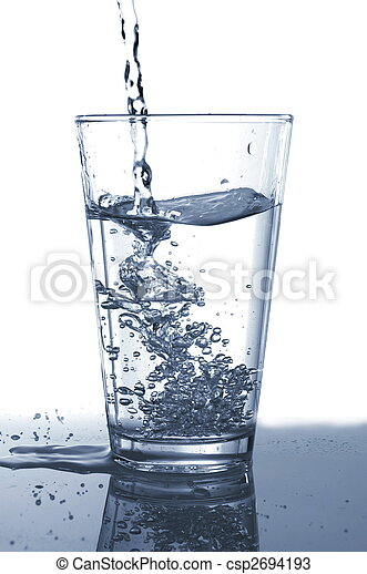 glass water - csp2694193