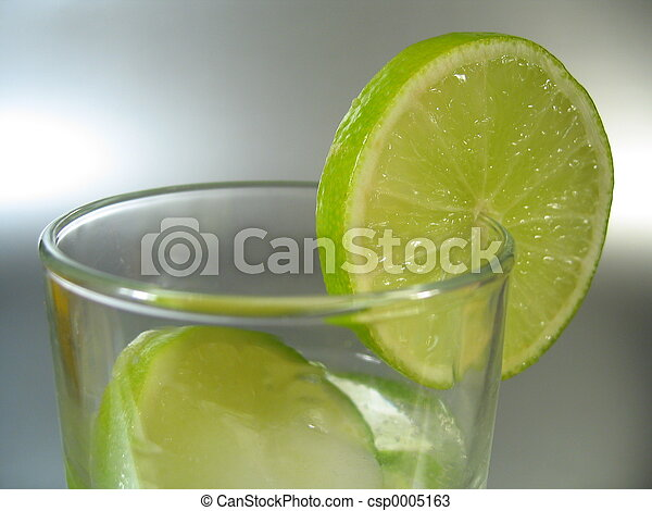 Glass with Lime - csp0005163