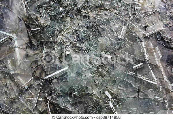 Gebrochenes Glas - csp39714958