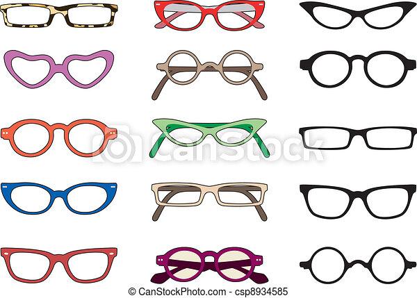 Glasses - csp8934585