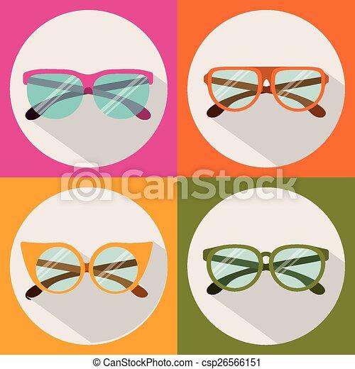 Glasses design - csp26566151