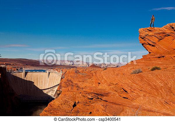 Glen Canyon Dam - csp3400541