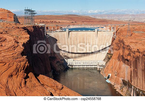 Glen Canyon Dam - csp24558768