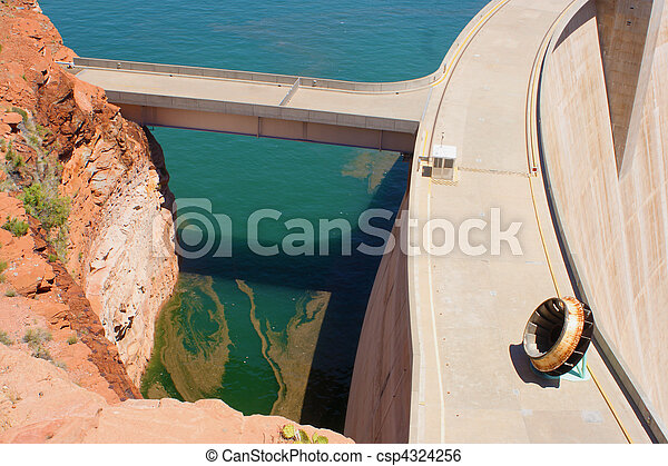 Glen Canyon Dam - csp4324256