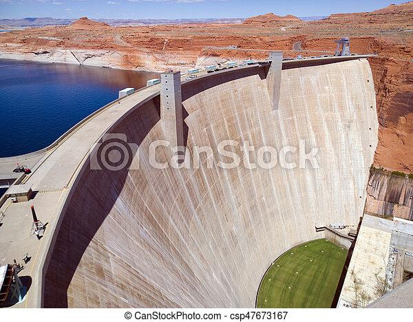 Glen Canyon Dam - csp47673167