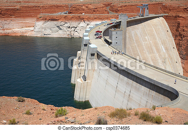 Glen Canyon Dam - csp0374685