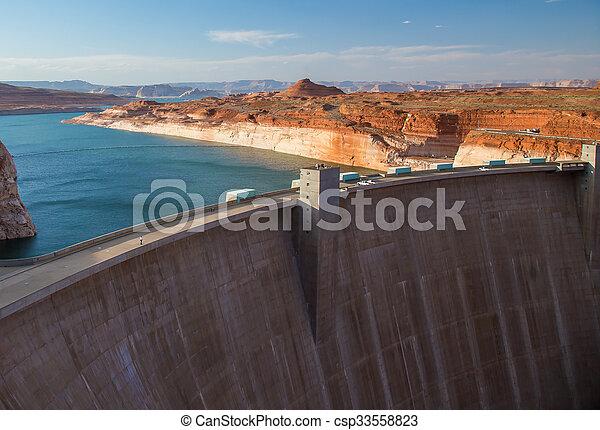 Glen Canyon Dam - csp33558823