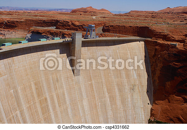 Glen Canyon Dam - csp4331662
