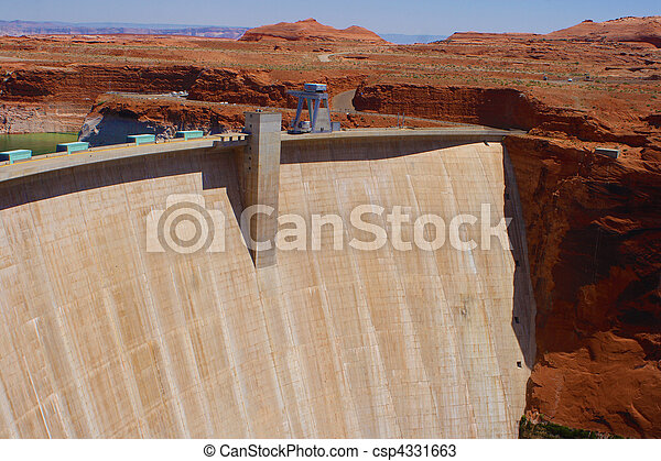 Glen Canyon Dam - csp4331663