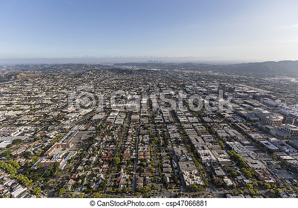 Glendale and Los Angeles California - csp47066881