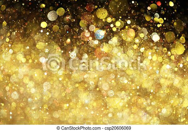glitter, guld - csp20606069