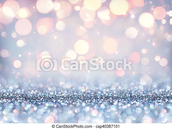Glittering Effect For Christmas - csp40387101