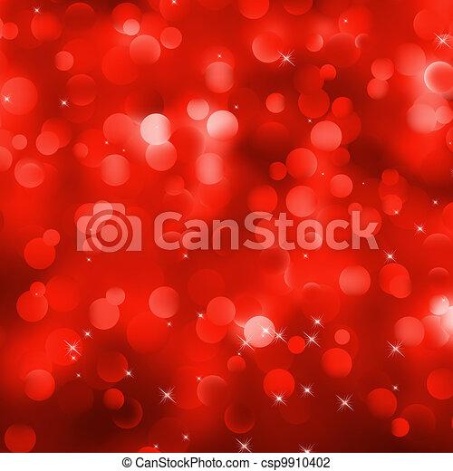 glittery, eps, experiência., 8, natal, vermelho - csp9910402