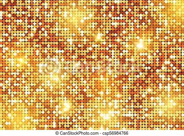 Glittery gold background - csp56984766