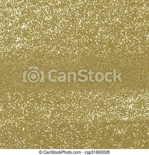 Glittery gold background - csp31663028