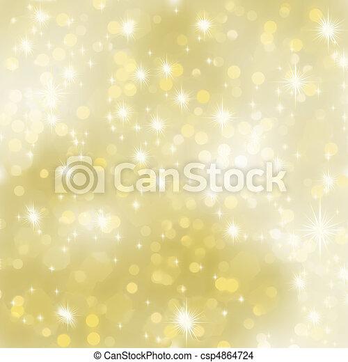 Glittery gold background. EPS 8 - csp4864724