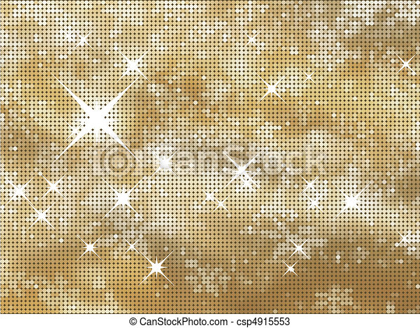 Glittery gold background - csp4915553