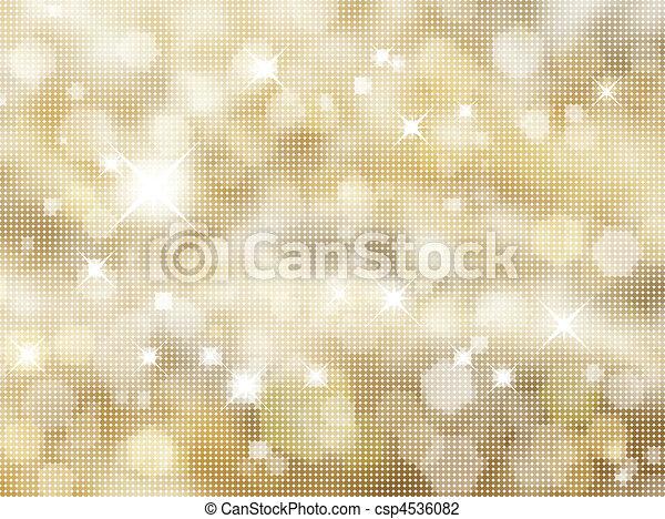 Glittery gold background - csp4536082