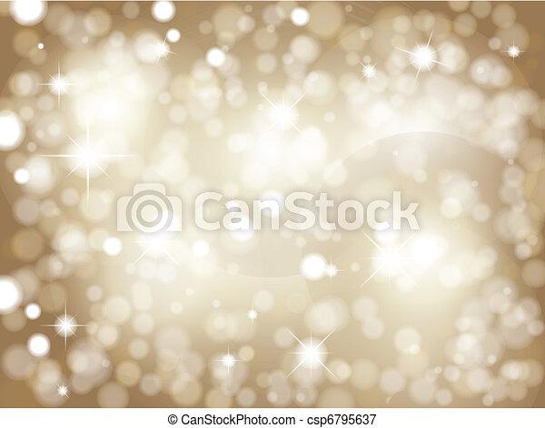 Glittery gold background - csp6795637
