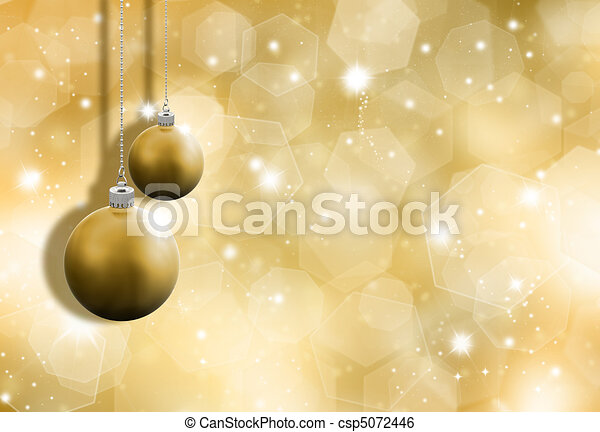 Glittery gold background - csp5072446