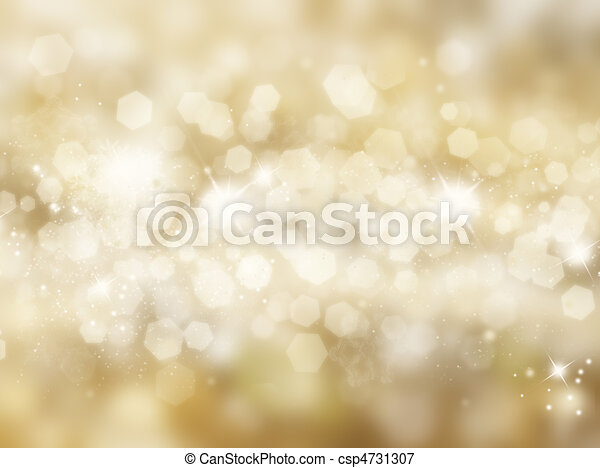 Glittery gold background - csp4731307