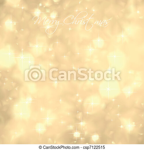 Glittery Gold Background. Vector - csp7122515