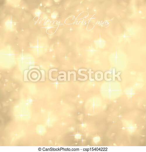 Glittery Gold Background. Vector - csp15404222