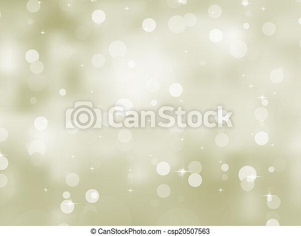 Glittery gold Christmas background. EPS 8 - csp20507563