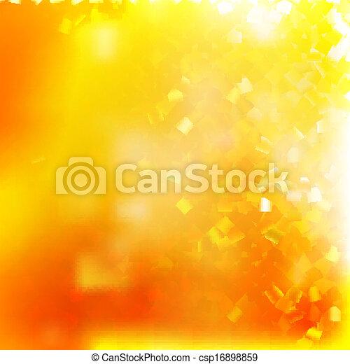 Glittery gold Christmas background. EPS 10 - csp16898859