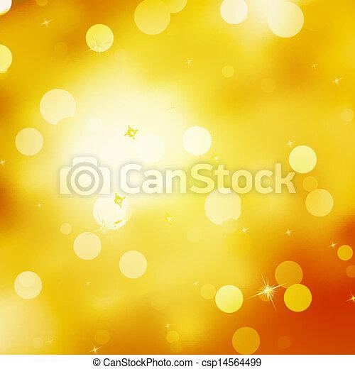 Glittery gold Christmas background. EPS 10 - csp14564499