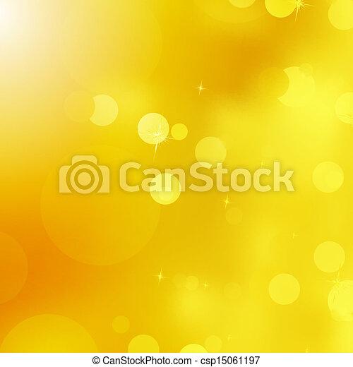 Glittery gold Christmas background. EPS 10 - csp15061197