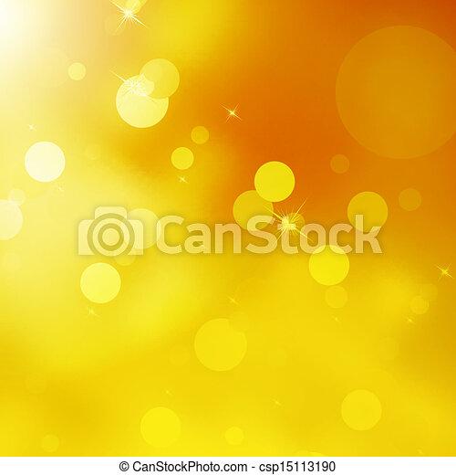 Glittery gold Christmas background. EPS 10 - csp15113190